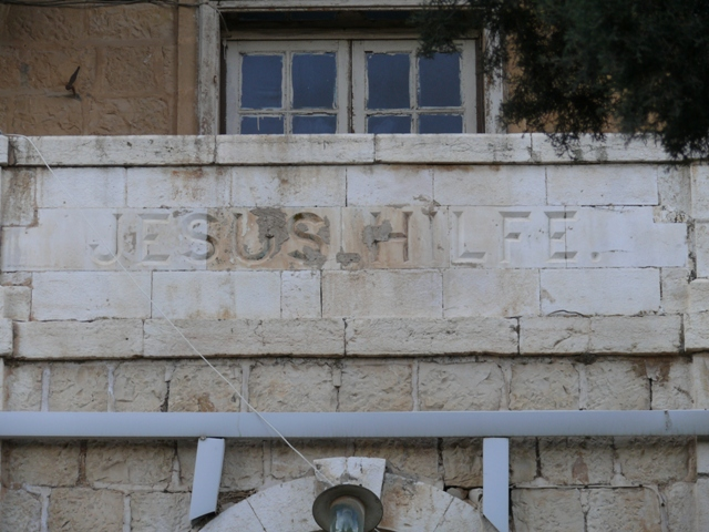 The Leper Hospital in Jerusalem